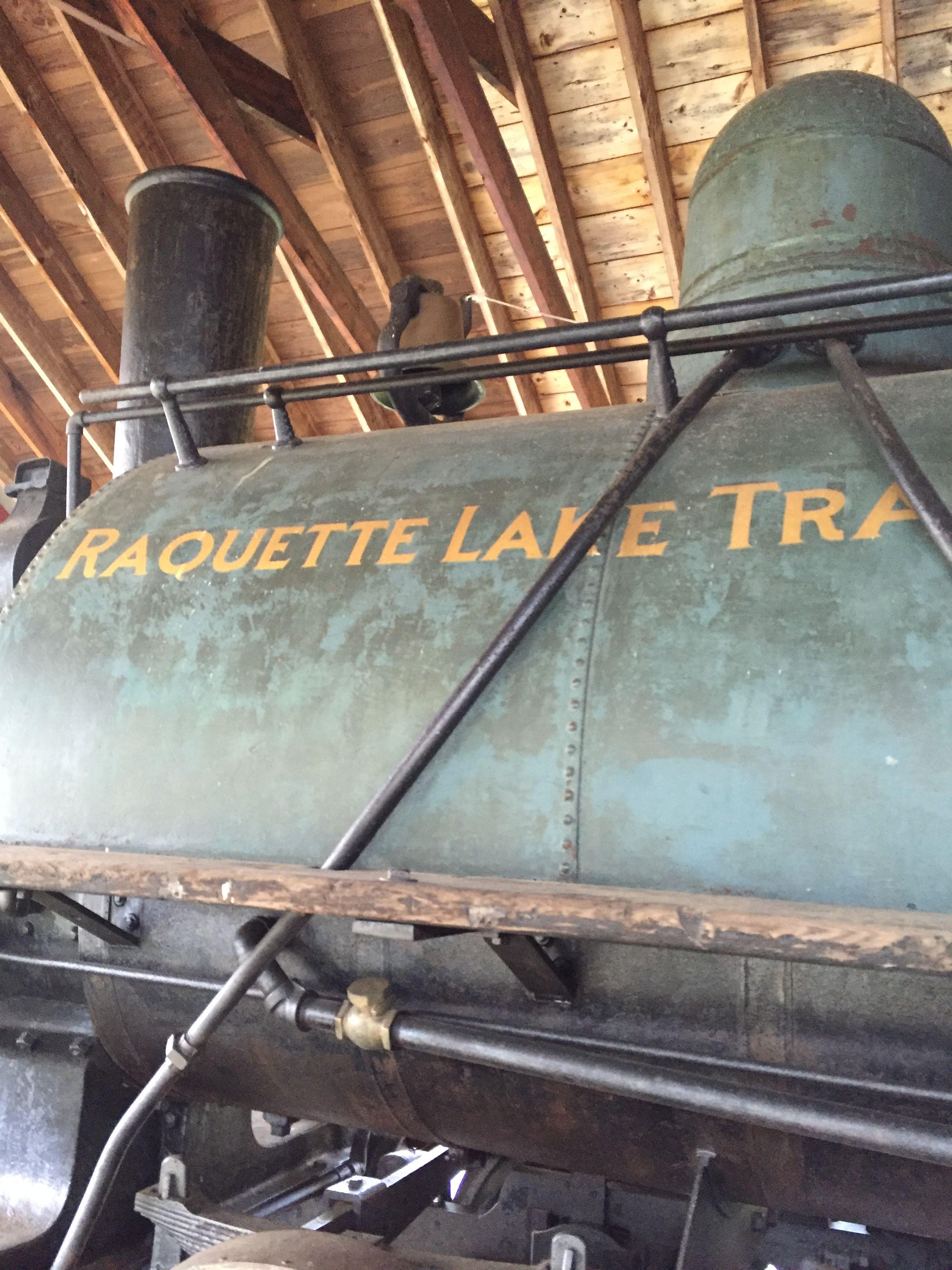 Raquette lake trail